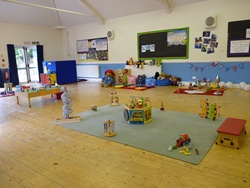 inside play area